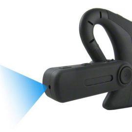 Bluetooth Earpiece Spy Camera