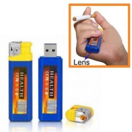 Cigarette Lighter w/ Hidden Camera