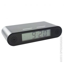 Desk Clock w/ Hidden Spy Camera