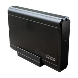 WiFi External Hard Drive Case with Hidden Camera
