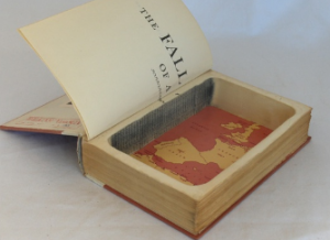 Books are great for gaining new knowledge. You could also hollow them out and use them to hide things. This Secret Storage Hollow Book Box looks like an old ... & Secret Storage Hollow Book Box - Spy Goodies