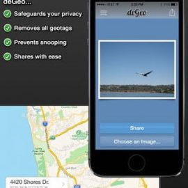 deGeo – Geotag Remover for iOS