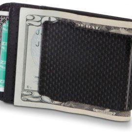Carbon Fiber Money Clip Blocks Radio Signals