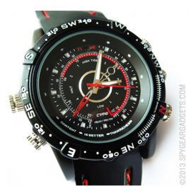 Waterproof Spy Watch Digital Video Recorder
