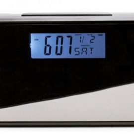 Travel Alarm Clock Hidden Camera