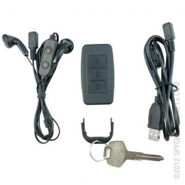 Digital Voice and Audio Recorder Keychain