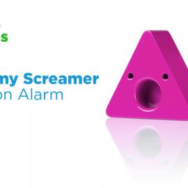 Sammy Screamer: Motion Alarm with Smartphone Support