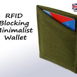 RFID Blocking, Minimalist Wallet