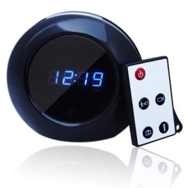 WiseupHD Alarm Clock Hidden Camera