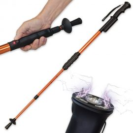 3 Stun Gun Canes & Walking Sticks for Self-Defense