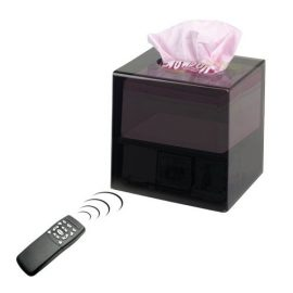 3 Must See Tissue Boxes with Spy Camera