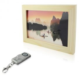 Wiseup Photo Frame + Hidden Camera
