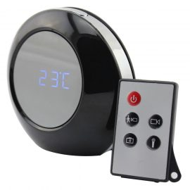 Taotuo HD Mirror Hidden Spy Camera + Alarm Clock