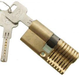 EZMAX Cutaway Practice Open Padlock