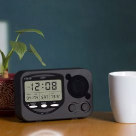 LED Alarm Clock to Hide your Dropcam