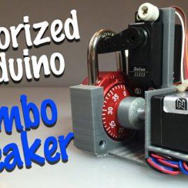 Combo Breaker: Motorized Lock Cracking Device