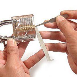 Transparent Cutaway Practice Padlock
