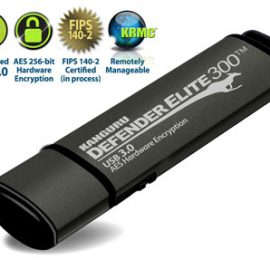 Kanguru Defender Elite300 Encrypted Flash Drive