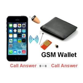 Spy GSM Wallet for Covert Audio Communication