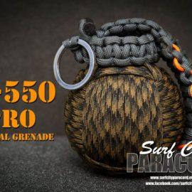 M-550 Pro Paracord Survival Grenade