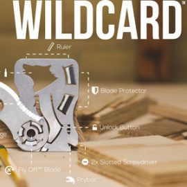 WildCard: Knife Multitool for Outdoors