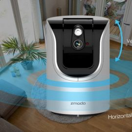 Zmodo Smart Pan Tilt WiFi Camera