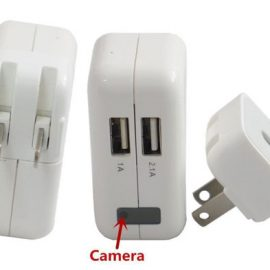 Hossen 1080p HD Spy Hidden Camera Looks Like an Adapter