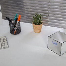 Hidden GoPro LED Mirrored Clock