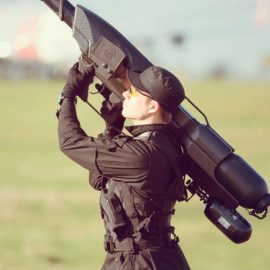 SkyWall Captures Drones Safely