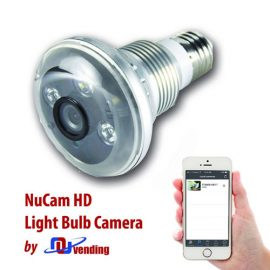 NuCam 720p Light Bulb Hidden Camera