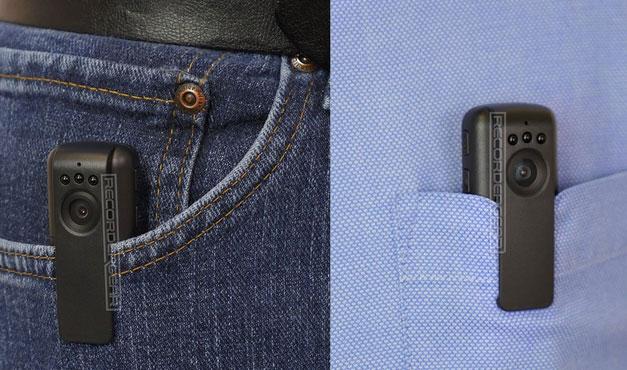 Recordergear Pc550 Wearable Body Cam Spy Goodies