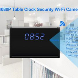 Luminously WiFi Hidden Clock Camera