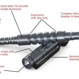 Off-Grid Tactical Pen for Self Defense