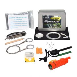 Survival Tin – 10 Piece Survival Kit