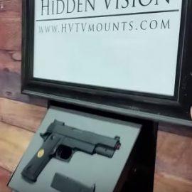 Hidden Vision In-wall Gun Concealment System