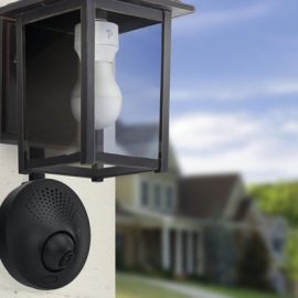 Toucan Outdoor Security Camera with Motion Detection