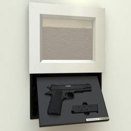 Wall-Mount Concealment Frame for Your Gun