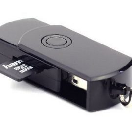 Soled Flash Drive with Hidden DVR