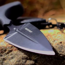 SCHF50F T-Handle Fixed Blade Knife