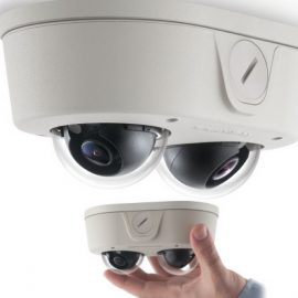 MicroDome Duo: Dual Sensor Security Camera