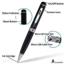 SpyCrushers Spy Pen Camera