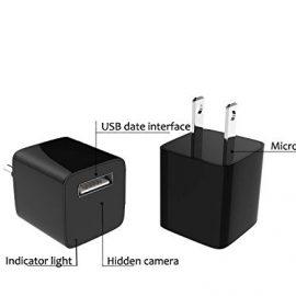 Wall Charger Hidden Spy Camera