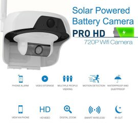 Solo Solar Powered Outdoor Security Camera