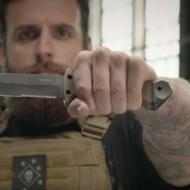 LMF II Survival Fixed Blade Knife Can Be Used As a Spear, Hammer