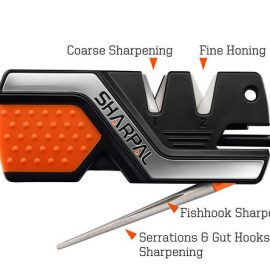 Sharpal 101N: 6-In-1 Knife Sharpener & Survival Tool