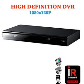 SecureShot Blu-ray Player with Hidden Camera
