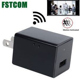 FSTCOM 720P HD USB Wall Charger Spy Camera