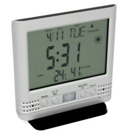 Weather Clock Cam HD with Motion Detection