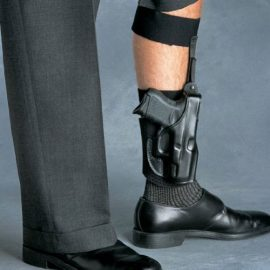 Galco AG652B Ankle Holster