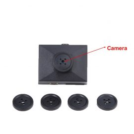 Mengshen Button Spy Hidden Camera
